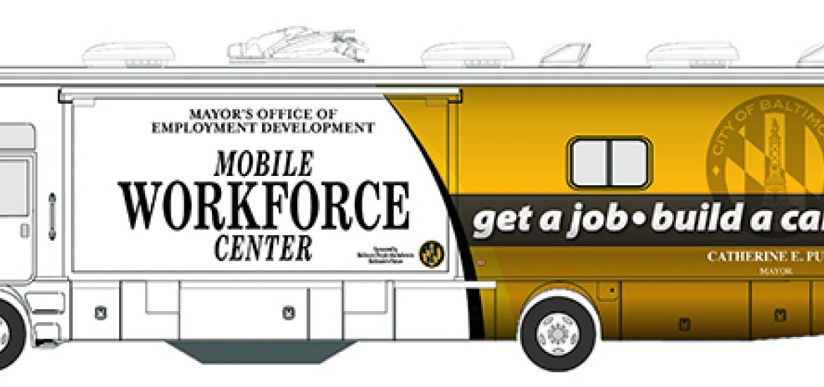 Mobile Workforce Center rendering